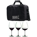 Riedel Veritas 3 Piece Red Wine Tasting Set with Travel Bag