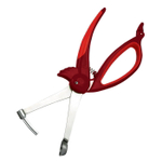 Boston Warehouse Animal House Woodpecker Stainless Steel Cherry and Olive Pitter