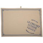 Le Creuset Heritage Marseille Linen 27.5 x 20 Inch Tea Towel