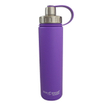 Eco Vessel Boulder Purple Haze Stainless Steel Triple Insulated 24 Ounce Water Bottle with Screw Cap