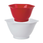 Progressive Prep Solutions 2 Piece Hexi Mix N Pour Bowl Set