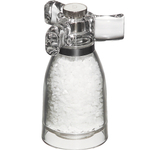 Chef Specialties Spinner Acrylic Salt Mill with Tri-Handle Top, 4.25 Inch
