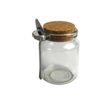 Artland Oasis 8 Ounce Condiment Jar with Cork Lid and Stainless Steel Spoon