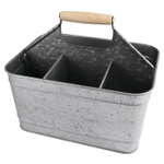 Artland Oasis Galvanized Metal Carry-All