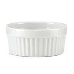 The French Chefs Porcelain White Ramekin