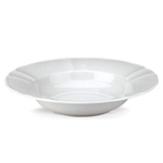 The French Chefs Maria Porcelain White 9 Inch Deep Plate
