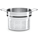 The French Chefs 5 Ply Stainless Steel 8 Quart Pasta Steamer Insert