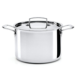 The French Chefs 5 Ply Stainless Steel 8 Quart Covered Stockpot