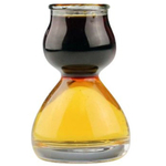 Quaffer Double Bubble Clear Layered Shot Glass