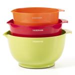 Farberware Classic 3 Piece Colorful Mixing Bowl Set