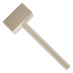 Scandicraft Beech Wood 7.75 Inch Crab Cracking Mallet