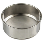 Scandicrafts Stainless Steel 5 Inch Fine Mesh Flour Sifter