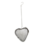 Scandicrafts Heart Shaped Stainless Steel 2 Inch Tea Infuser