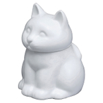 HIC Harold Import Co White Porcelain Cat Sugar Bowl