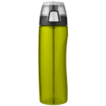 Thermos Lime Green Eastman Tritan 24 Ounce Hydration Bottle with Rotating Meter on Lid