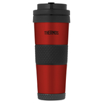 Thermos Cranberry Red Stainless Steel Vacuum Insulated 18 Ounce Travel Tumbler
