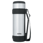 Thermos Stainless Steel Vacuum Insulated 34 Ounce Beverage Bottle with Folding Handle