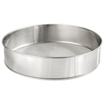Scandicrafts Stainless Steel 10.25 Inch Fine Mesh Flour Sifter