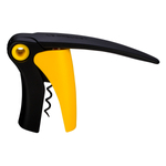 Le Creuset Shiny Yellow Compact Lever Wine Bottle Opener