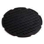Norpro Black Nonstick Cast Aluminum 6 Inch Grill Disk