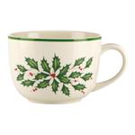 Lenox Holiday 24 Ounce Soup Bowl Mug