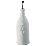 Revol French Classique White Porcelain 8.75 Ounce Provence Olive Oil Bottle