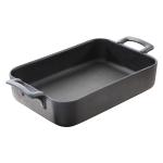 Revol Belle Cuisine Slate Porcelain 24.75 Ounce Inch Roasting Dish