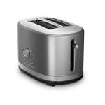 KitchenAid KMT2116CU Contour Silver 2-Slice Long Slot Toaster with High Lift Lever