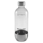 KitchenAid KSS1023SX SodaStream Stainless Steel Reusable Carbonating Bottle for Sparkling Beverage Maker