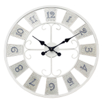 Grasslands Road 23.5 Inch Mosaic Wall Clock