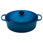 Le Creuset Signature Marseille Enameled Cast Iron 8 Quart Oval Dutch Oven