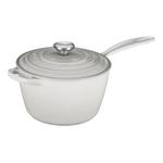 Le Creuset Signature White Enameled Cast Iron 3.25 Quart Covered Saucepan