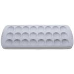 Le Creuset White Stoneware Deviled Egg Serving Platter