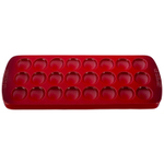 Le Creuset Cherry Stoneware Deviled Egg Serving Platter