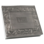 Old Dutch Pewter Gourmet Tea Bag Storage Chest