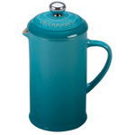 Le Creuset Caribbean Stoneware 12 Ounce Petite French Press