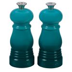 Le Creuset Caribbean Petite 5 Inch Salt and Pepper Mill Set