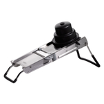 De Buyer La Mandoline Ultra Double Horizontal Blade Slicer with Plastic Pusher