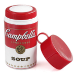 Evriholder 11.5 Ounce Campbell's Soup Insulated Container with Cup Lid