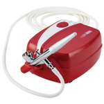 Cake Boss Red 8 Piece Cake Decorating Airbrush Kit
