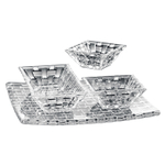 Nachtmann Dancing Stars Bossa Nova 4 Piece Crystal Serving Set