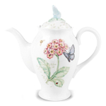 Lenox Butterfly Meadow 48 Ounce Coffee and Tea Serving Pot