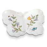 Lenox Butterfly Meadow 10 Inch Hors D'oeuvres Tray