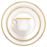 Lenox Eternal White 5 Piece Dinnerware Place Setting