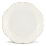 Lenox French Perle White 8 Inch Dessert Plate, Set of 4