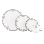 Lenox Marchesa Empire Pearl 5 Piece Dinnerware Place Setting