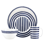 kate spade new york Charlotte Street North 4 Piece Dinnerware Place Setting