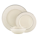 Lenox Pearl Innocence 3 Piece Dinnerware Place Setting