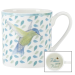 Lenox Butterfly Meadow Celebrations Follow Your Heart 10 Ounce Coffee Mug