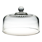 Anchor Hocking Annapolis Glass 10.25 Inch Round Cake Dome